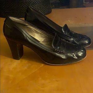 Michael Kors black leather shoes size 9.5M